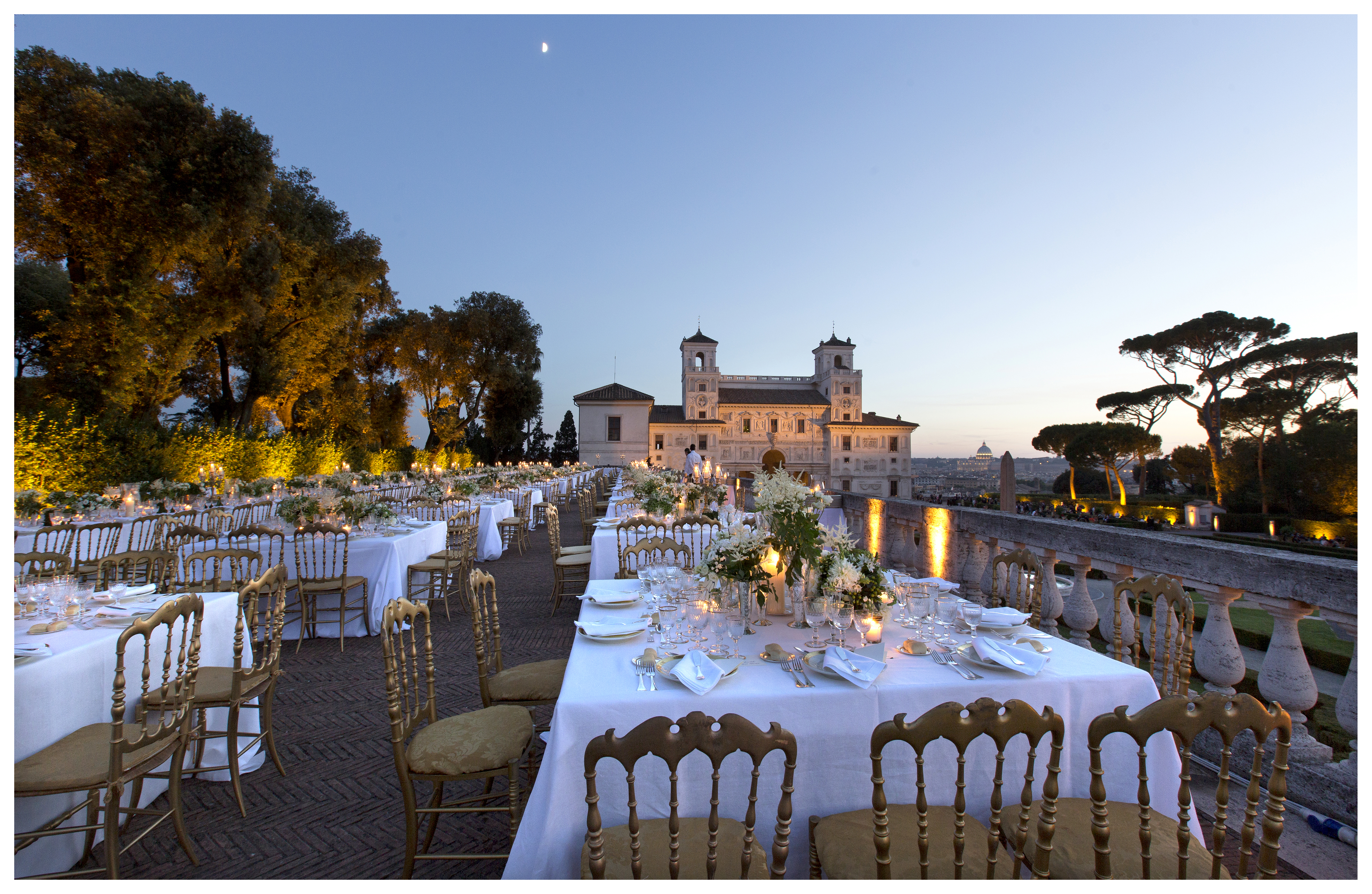 Private Events Villa Medici