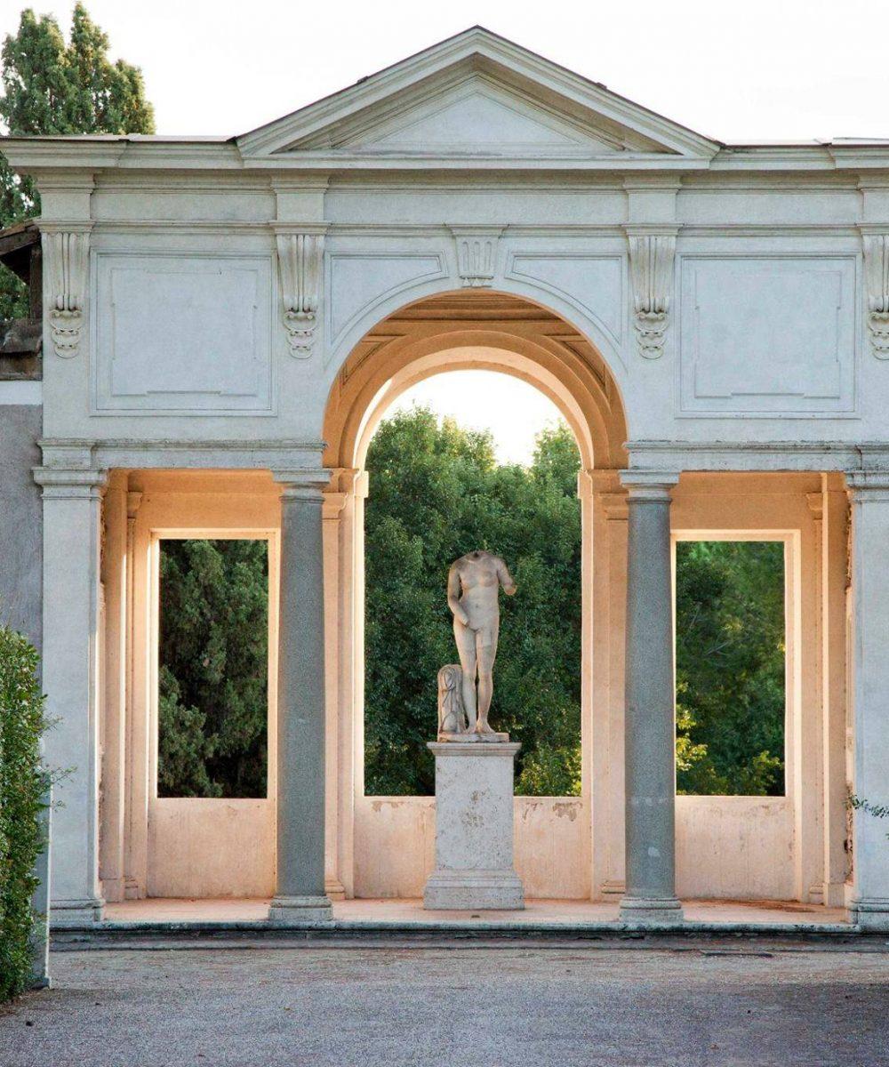 Villa Medici the academy in rome villa medici